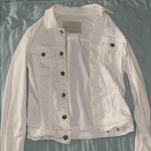 Adriano Goldschmied (AG) white jean jacket